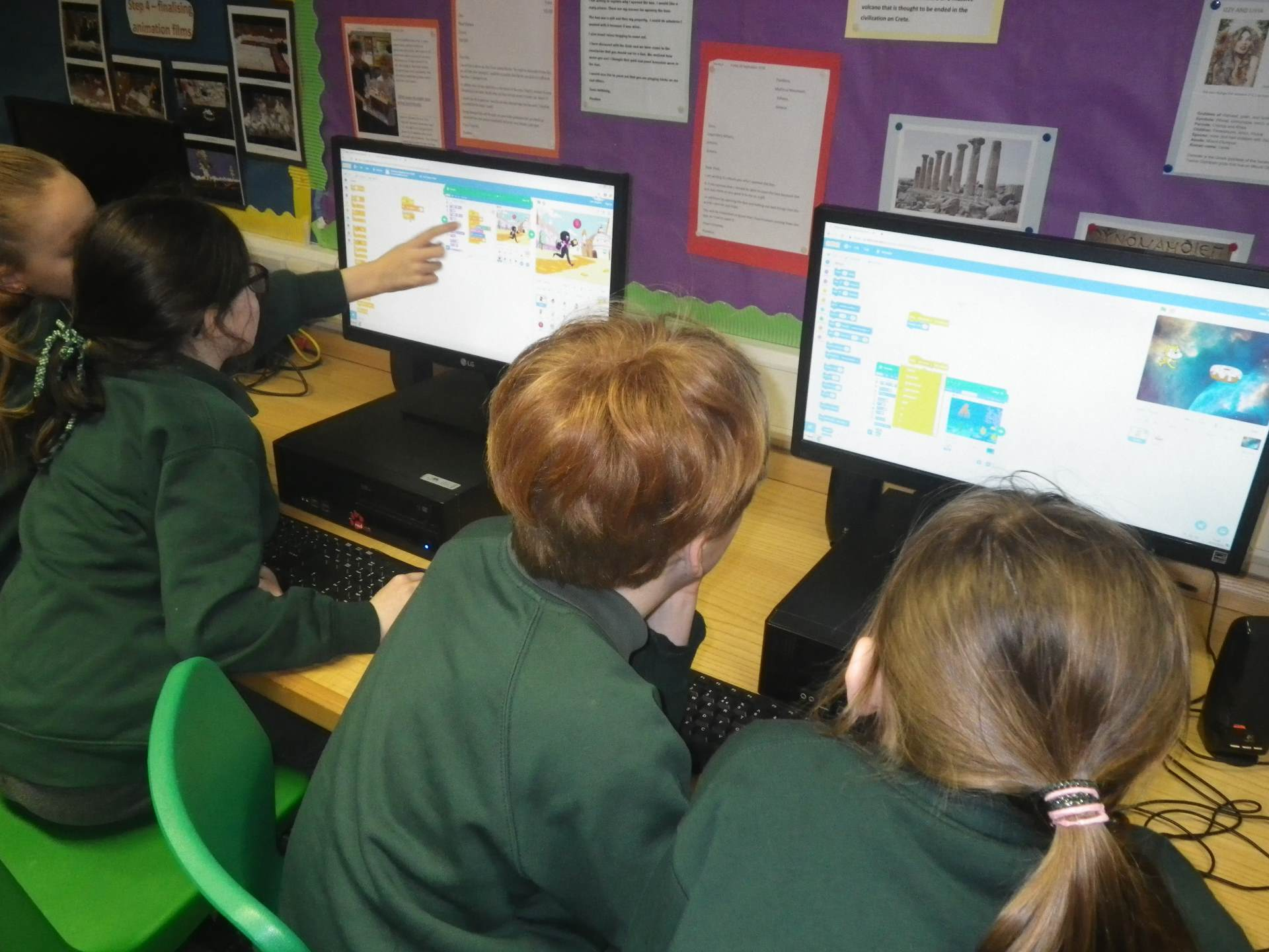 Using Scratch in Computing